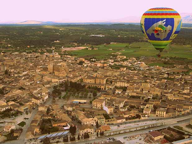 Mallorca by balloon